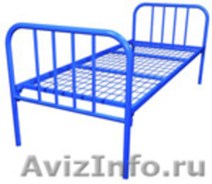 Кровати для бытовок, кровати для строителей, кровати для больницы опт - Изображение #1, Объявление #695485