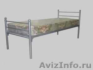 Кровати металлические для бытовок, кровати трёхъярусные для рабочих. опт. - Изображение #4, Объявление #1479844