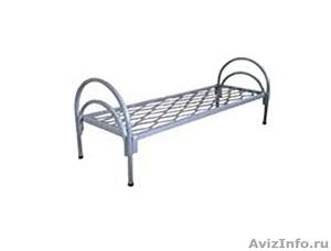 Кровати металлические трёхъярусные, кровати для школ, кровати низкая цена - Изображение #4, Объявление #1479528