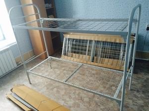 Кровати металлические двухъярусные для рабочих Арт/006 - Изображение #2, Объявление #544911