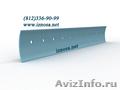 Ножи грейдерных и бульдозерных отвалов из износостойкой стали borox , Объявление #129000