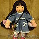 Кукла текстильная,  игровая