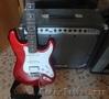 Продам срочно электро-гитару с буфиром