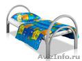 Железные двухъярусные кровати для бытовок, кровати для общежитий. Дёшево - Изображение #5, Объявление #1480235