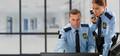 Сотрудник с опытом охранника
